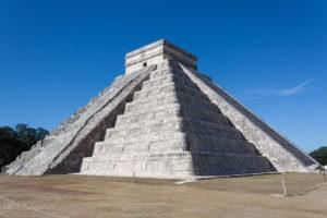 Пирамида Кукулькана в Чичен-Ица