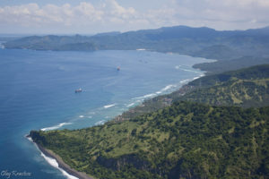 Полет над Бали на парлете